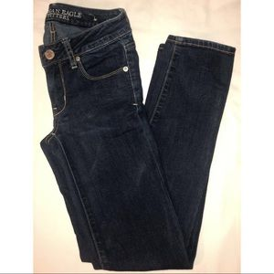 AMERICAN EAGLE super skinny stretch
